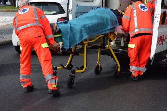 Verletzung nach Verkehrsunfall