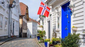 Verkehrsunfall in Norwegen