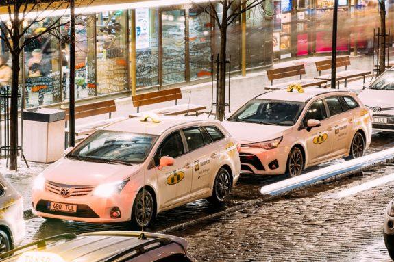 Autounfall in Estland