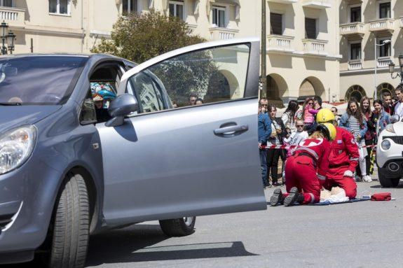 Autounfall in Griechenland