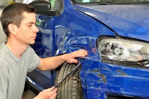 Totalschaden - Verkehrsunfall